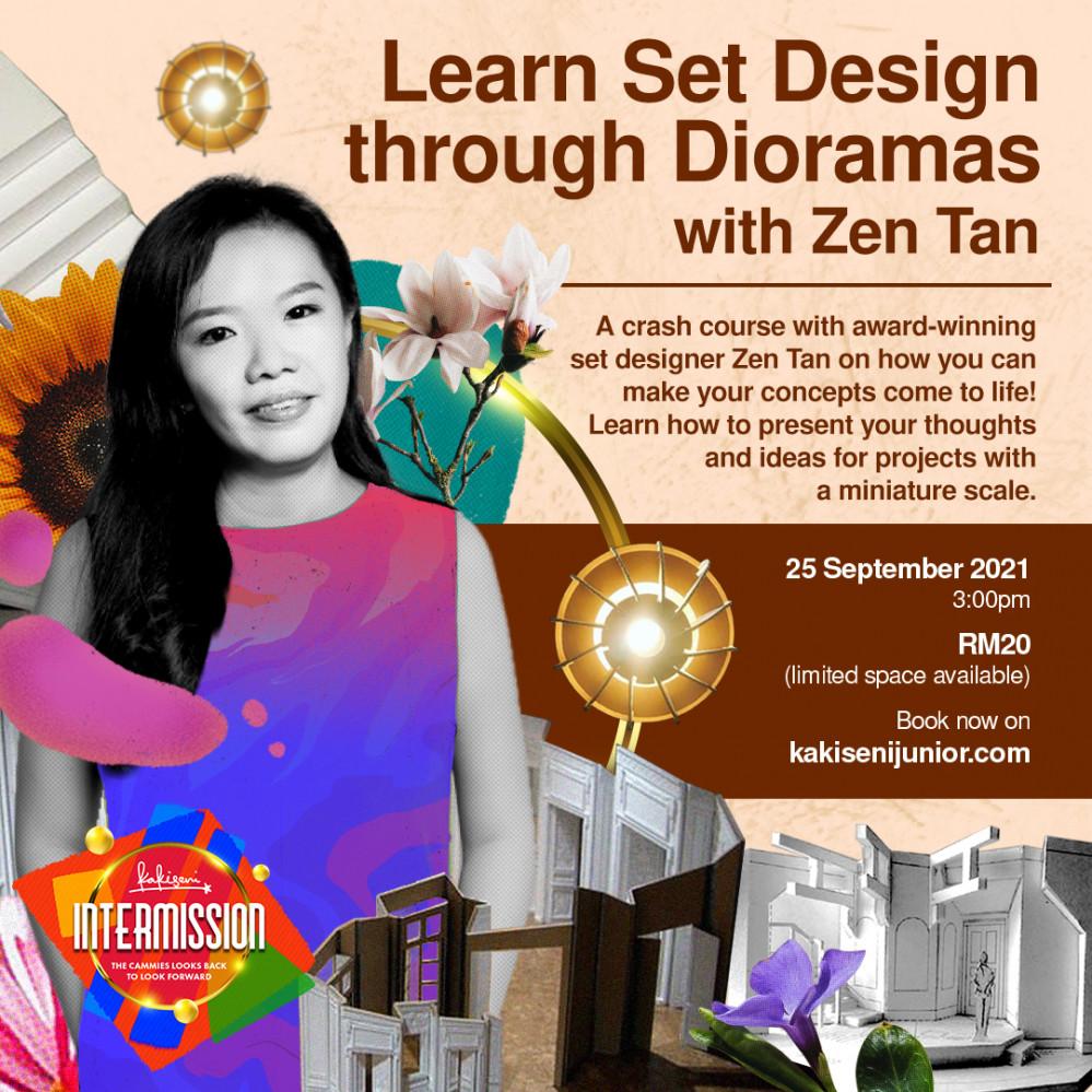 Learn Set Design through Dioramas with Zen Tan!