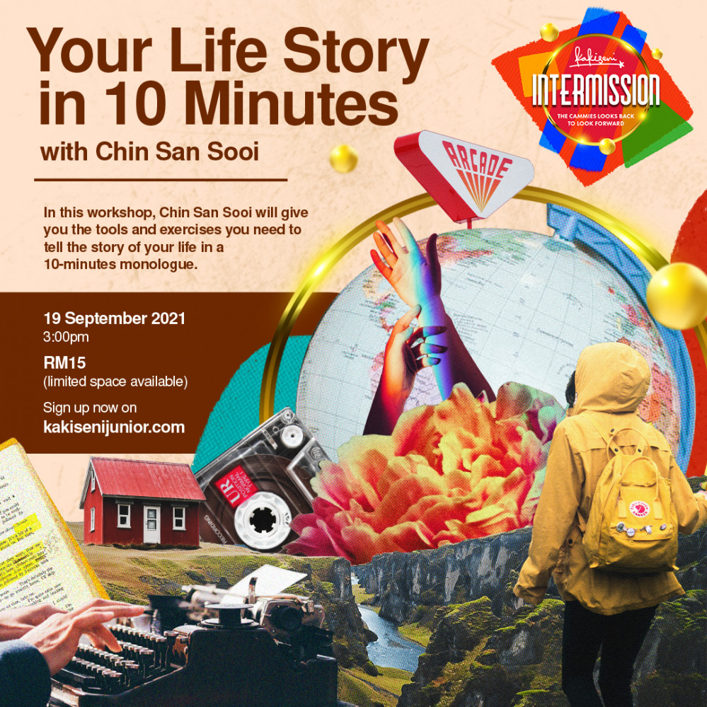 Your Life Story in 10 Minutes with Chin San Sooi