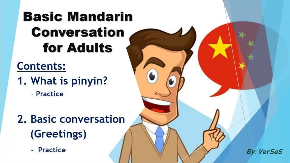Fun Mandarin for Teens and Adults (Part 1)