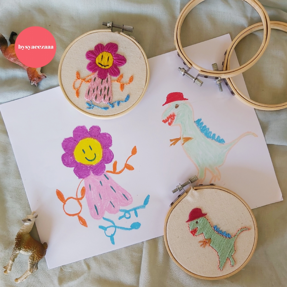 Bringing Your Drawing to Life with Modern Embroidery