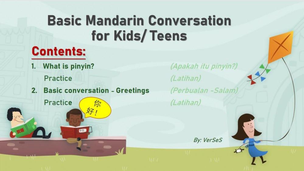 Fun Mandarin for Kids (Part 1)