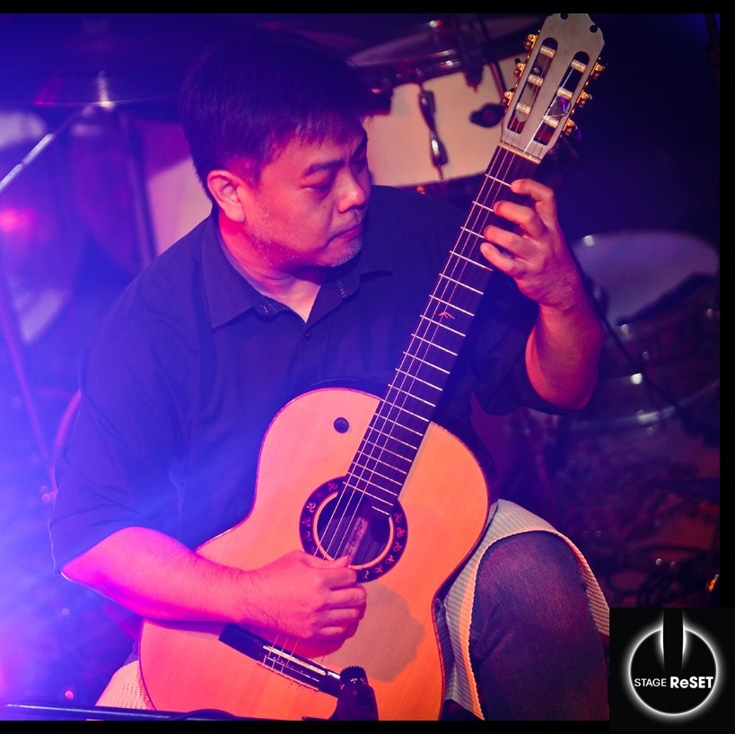 Classical Guitar Lesson with Cikgu Tang