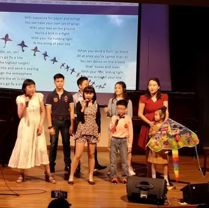 Singing class (Day Sessions) with Wai Quan Lao-Shi