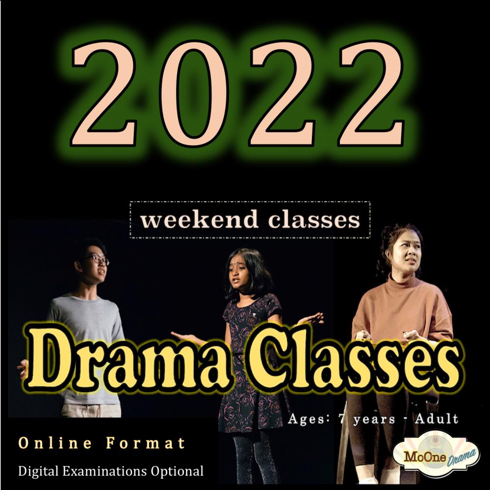 Speech and Drama Class with Teacher Amina (10-12 years)