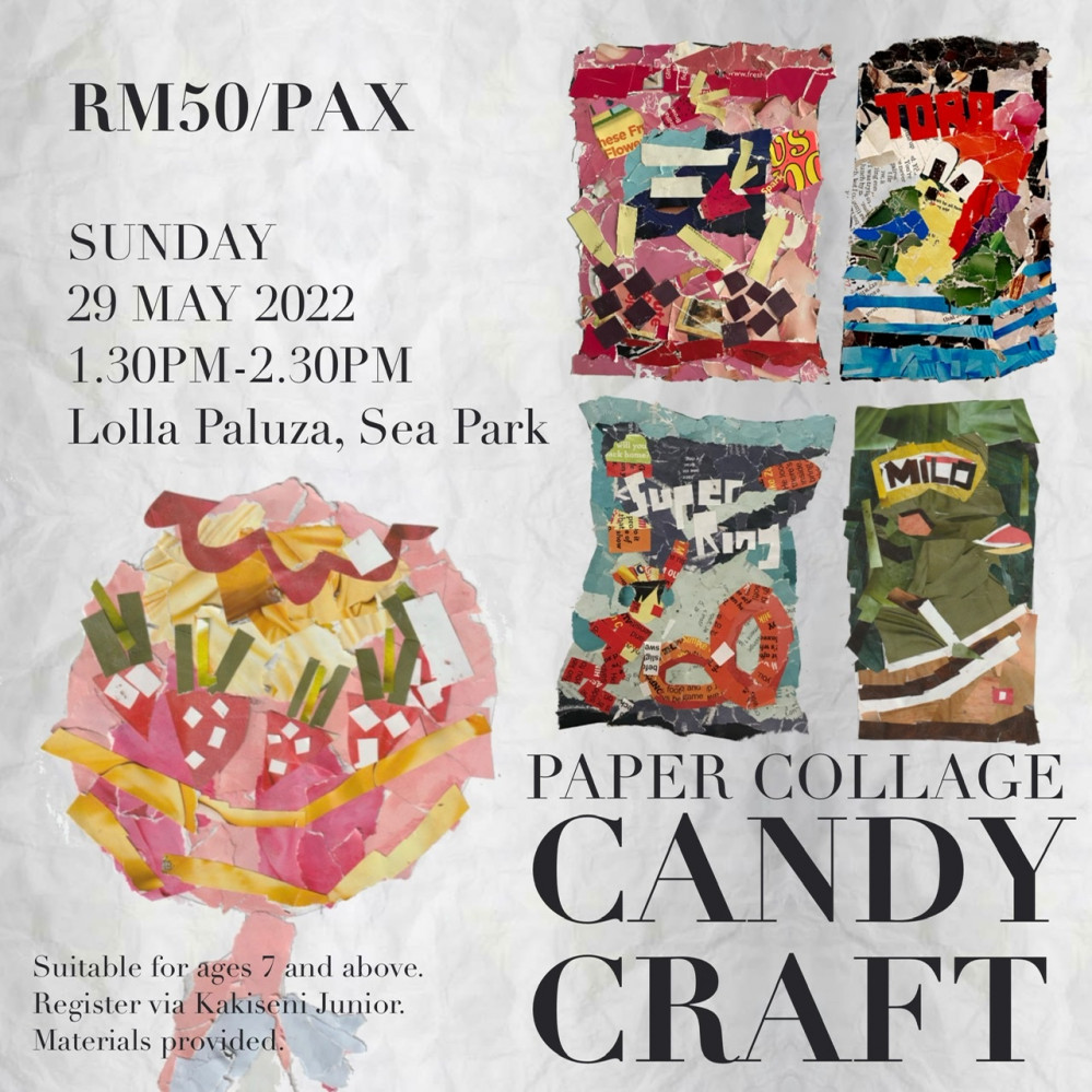 Create Scrumptious Masterpieces! Candy Collage with Afi Sulaiman