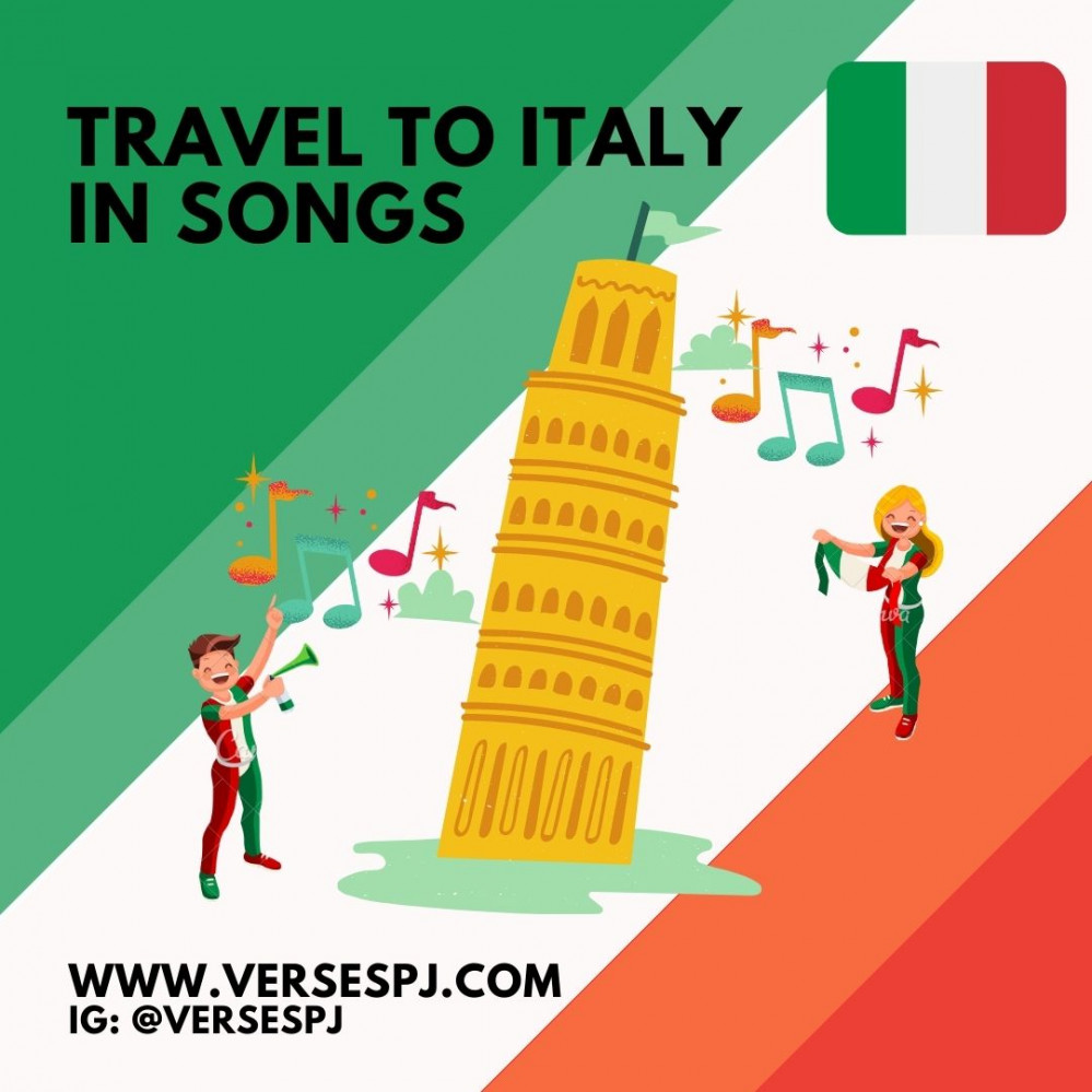 Travel to Italy in Songs! Let's Sing!