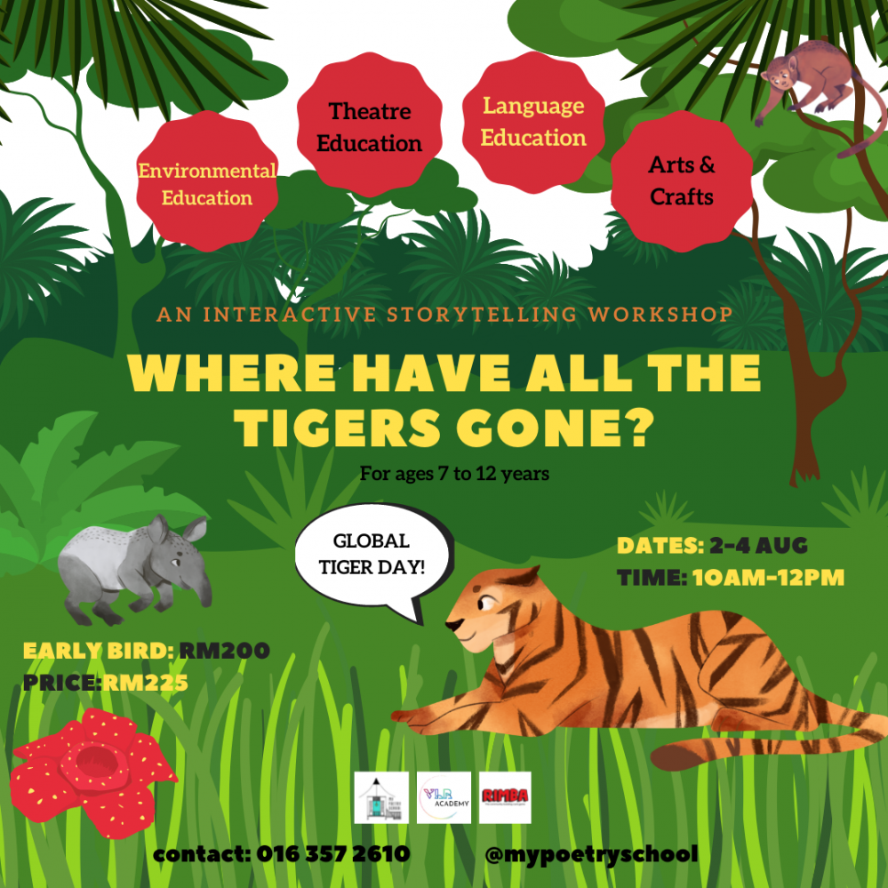 Where Have All The Tigers Gone? Holiday Programme