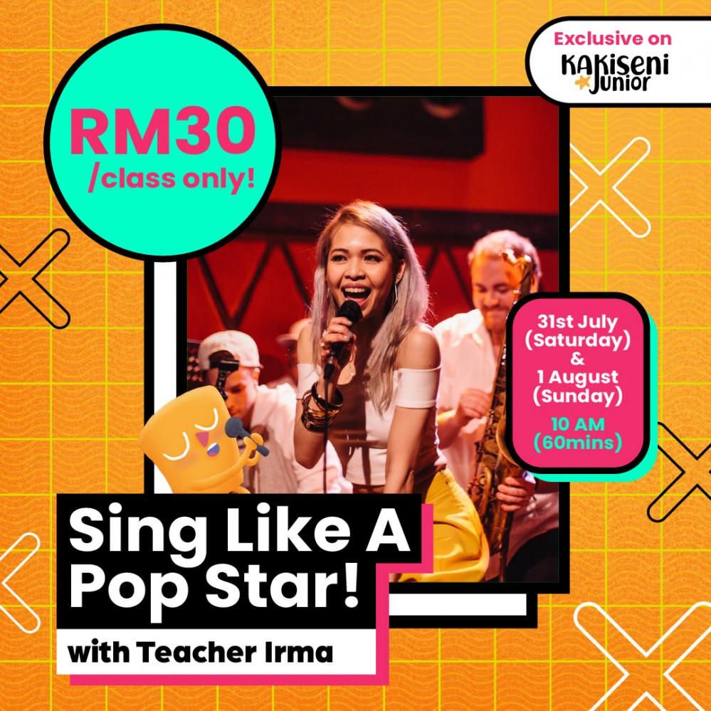 Sing Like A Pop Star! With Teacher Irma