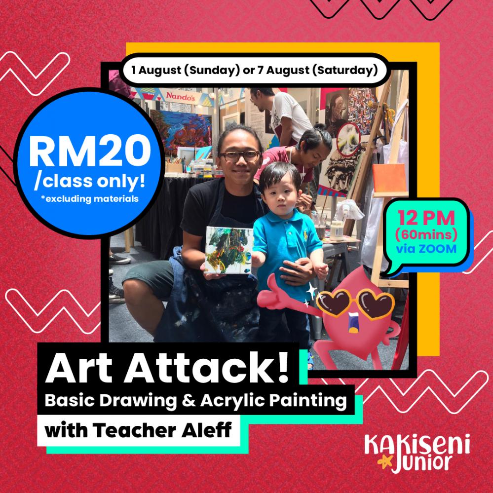 Art Attack! With Teacher Aleff